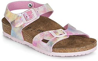 Birkenstock RIO girls's Sandals in Pink