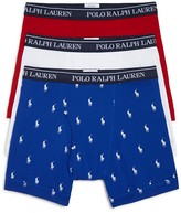 Polo Ralph Lauren Classic Fit Boxer Briefs - Pack of 3