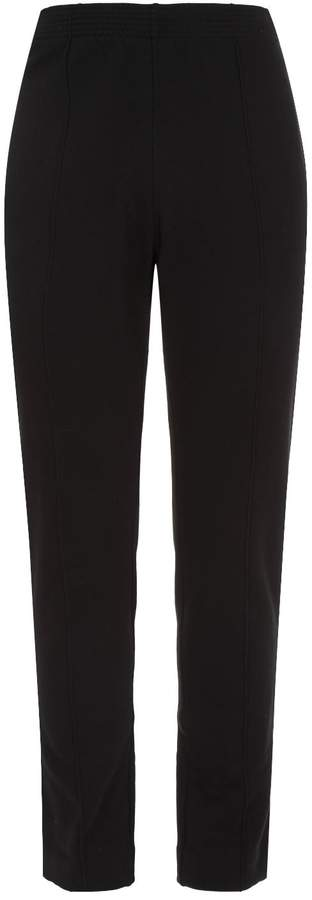 Givenchy Leather Logo Patch Sweatpants