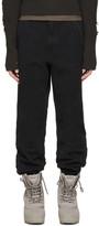 Yeezy Black Twill Worker Pants
