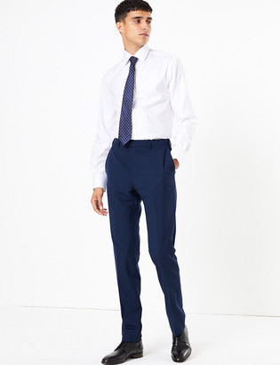 Marks and Spencer The Ultimate Big & Tall Blue Skinny Fit Trousers