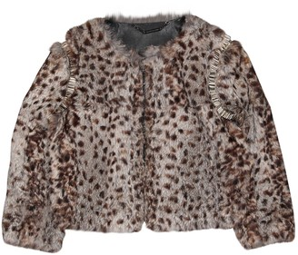 Matthew Williamson Multicolour Rabbit Jacket for Women