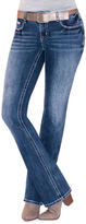 Amethyst Jeans Cindy Mid-Rise Short Bootcut Jeans
