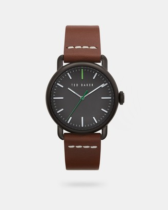 Ted Baker Calf Leather Strap Watch