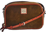 Dooney & Bourke As Is Suede Sawyer Crossbody
