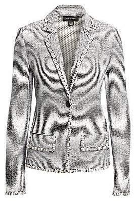 St. John Women's Crepe Tweed Jacket