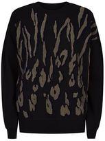 AllSaints Scar Embroidered Sweatshirt
