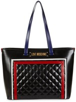 Love Moschino Multicolor Quilted Tote