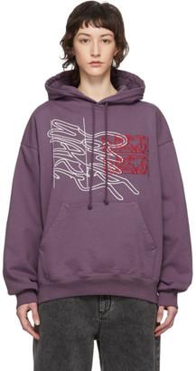 Some Ware Purple New Logo Hoodie