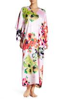 Natori Waterspring Kimono Sleeve Caftan Nightgown