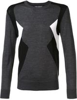 Neil Barrett colour block jumper - men - Wool - L