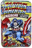Disney Captain America Marvel Comic Book Float