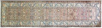 "One Kings Lane Vintage Antique Persian Malayer Rug - 3'7""x14'4"" - Eli Peer Oriental Rugs - orange/multi"