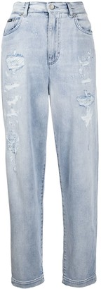 Dolce & Gabbana Amber ripped boyfriend jeans