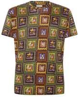 Etro Printed Linen T-shirt