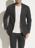 Relaxed Wool Blazer