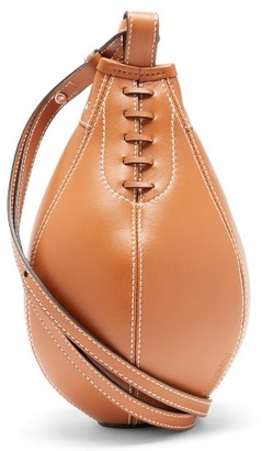 J.W.Anderson Punch Small Leather Cross-body Bag - Tan