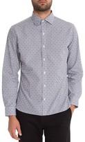 7 Diamonds Men's Midnight Rambler Woven Shirt