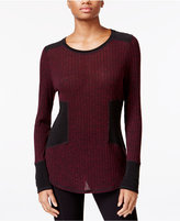 Rachel Roy Colorblocked Combo Sweater