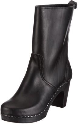 Swedish Hasbeens Womens Boots Boots Black Schwarz/Black Size: 5 (38 EU)