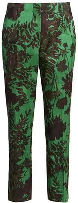 Dries Van Noten Floral Skinny Pants