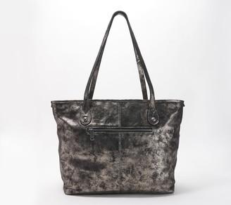 Patricia Nash Woven Leather Tote - Viotti