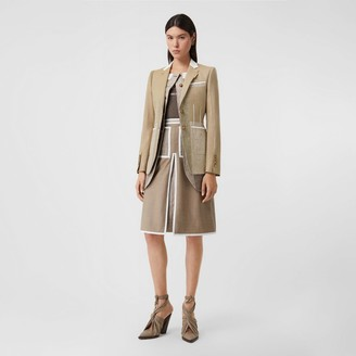 Burberry Wool Cashmere and Linen Waistcoat