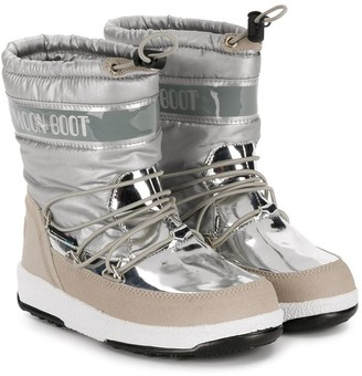 MOON BOOT KIDS Logo Snow Boots