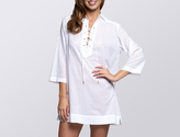 Jets Classique Lace Up Shirt Dress