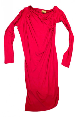 Vivienne Westwood Red Cotton - elasthane Dress for Women