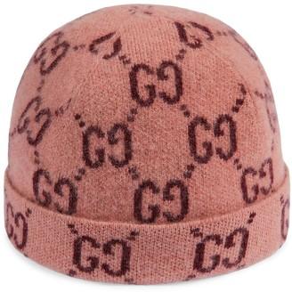 Gucci Kids GG intarsia knit beanie