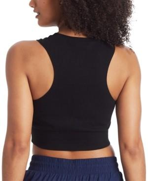 Champion Women's Double Dry Sweatshirt Cropped Tank Top