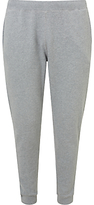 Sunspel Loopback Cotton Lounge Pants, Grey Melange