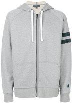 Lanvin stripe detail hoodie