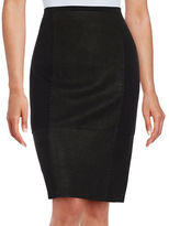 Elie Tahari Leary Lace-Up Pencil Skirt