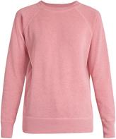 Etoile Isabel Marant Billy raglan-sleeved melange sweatshirt