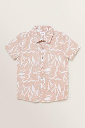 Seed Heritage Reverse Print Shirt