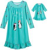 Girls 4-16 SO® Pattern Nightgown & Doll Nightgown Pajama Set