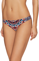 Red Carter Hipster Bikini Bottom
