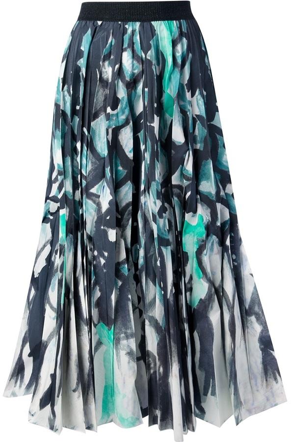 Tsumori Chisato abstract print skirt