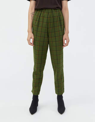 Simon Miller Etto Pant in Forest Plaid