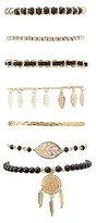 Charlotte Russe Embellished Layering Bracelets - 7 Pack