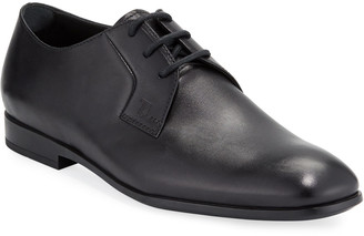 Tod's Men's Smooth Leather Derby Shoes