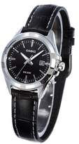 Casio Women's Core LTP1308L-1AV Leather Quartz Watch