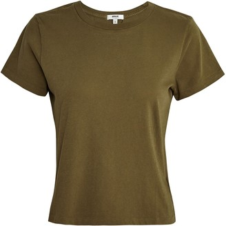 A Gold E Linda Boxy Cotton T-Shirt