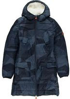 Save The Duck Marc Printed Faux Fur Jacket - Girls'