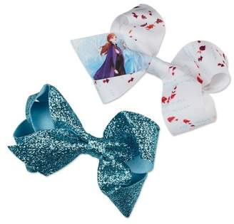 Scunci Frozen 2 Salon Clip Medium Bows - 2pk