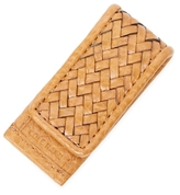 Cole Haan Woven Leather Money Clip