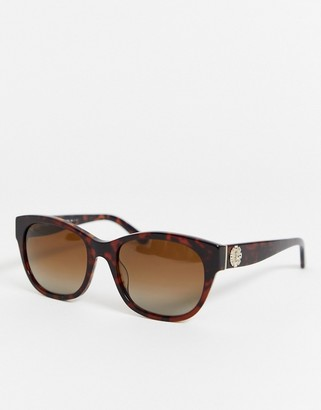 Juicy Couture tort frame square sunglasses