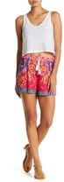 Flying Tomato Printed Tassel Shorts